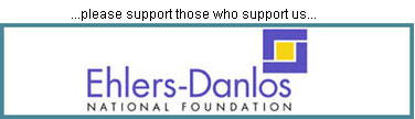 Ehlers-Danlos National Foundation logo